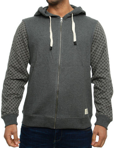 Blend Zip Hoody 703095 Charcoal  Grey