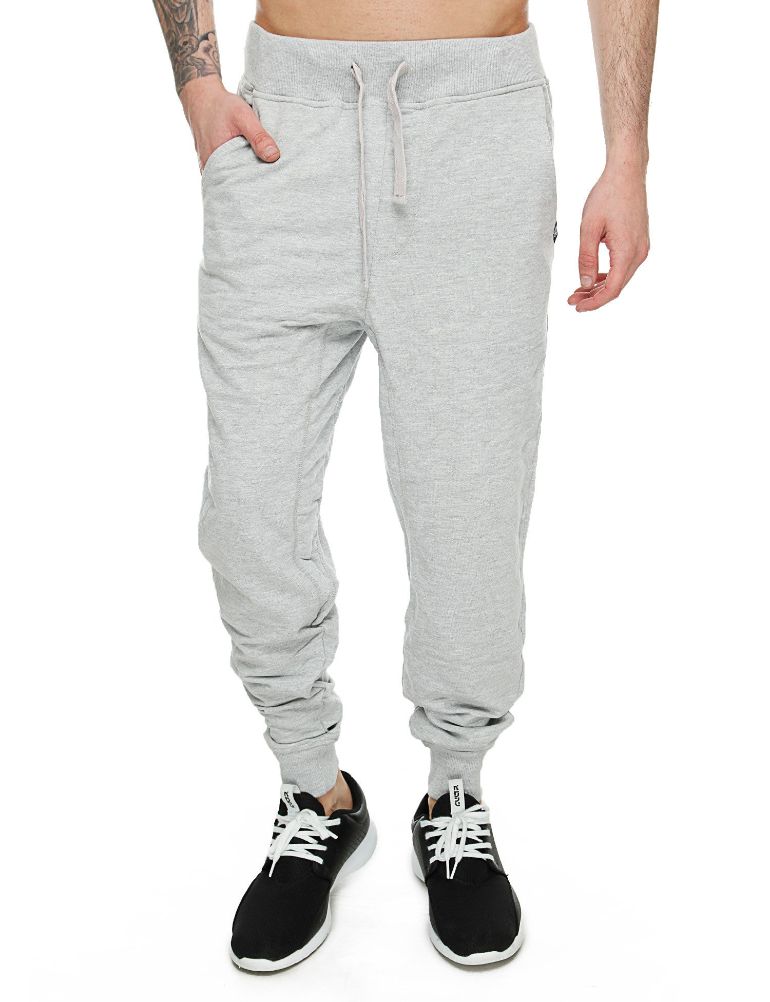 Akademiks FLATLAND Sweatpants A35SP04 Heather Grey