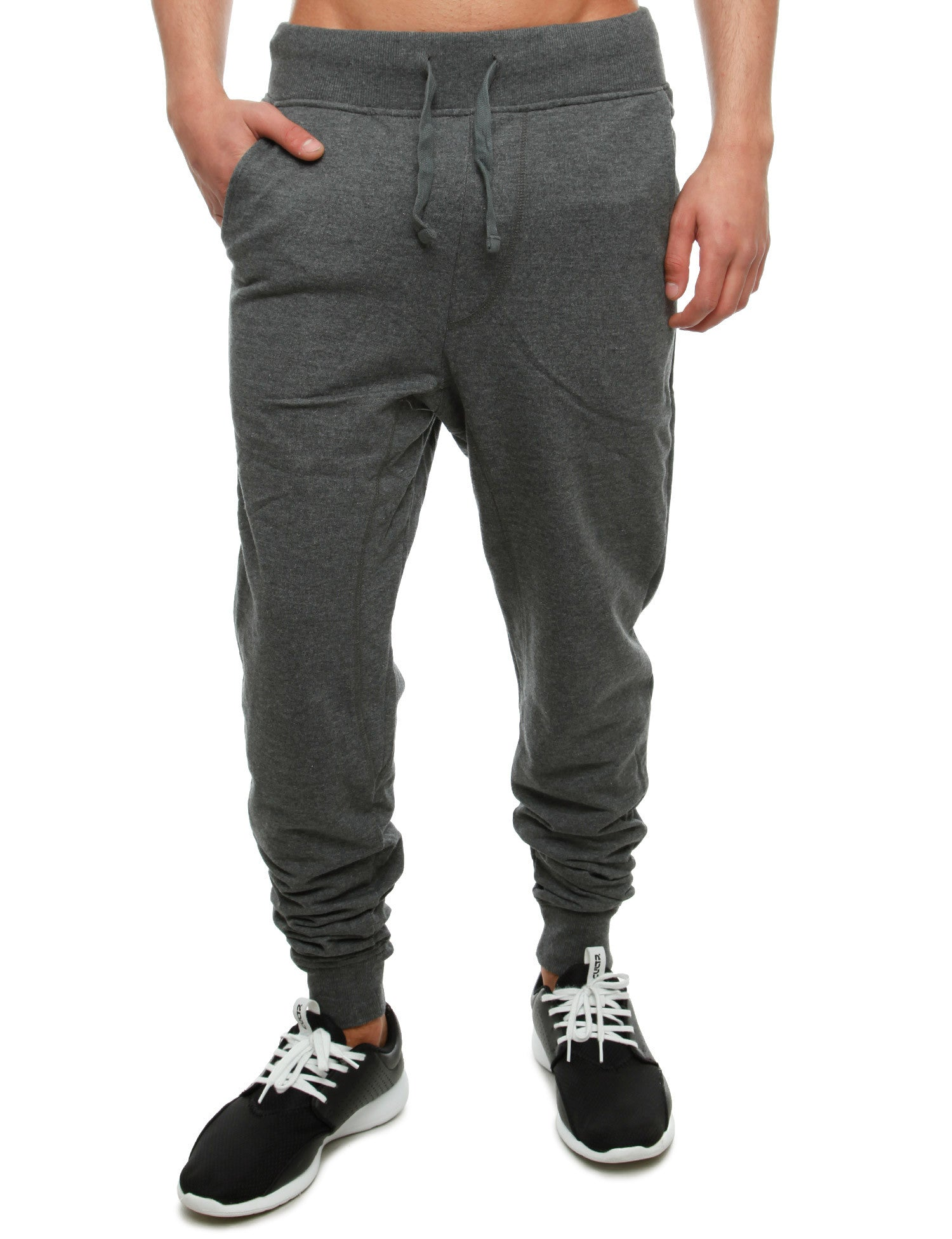 Akademiks FLATLAND Sweatpants A35SP04 HTH Charcoal Grey