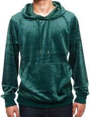 Akademiks VELOUR PO Hoody A35HD31 Emerald Green
