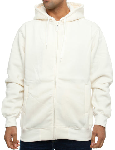 Imperious Fleece Hoody 10221A Cream White