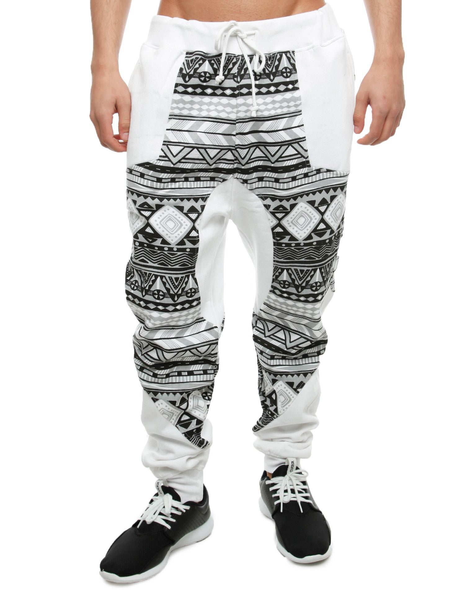 Imperious ´Aztec´ Sweatpant FP29 White
