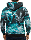 Imperious ´Diamond´ All-Over Hoody HS522 Teal Turquoise