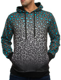 Imperious Animal Print Hoody HS02 D. Grey
