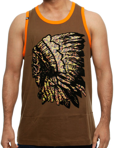 Imperious Tank Top TT32-B Coffee Brown