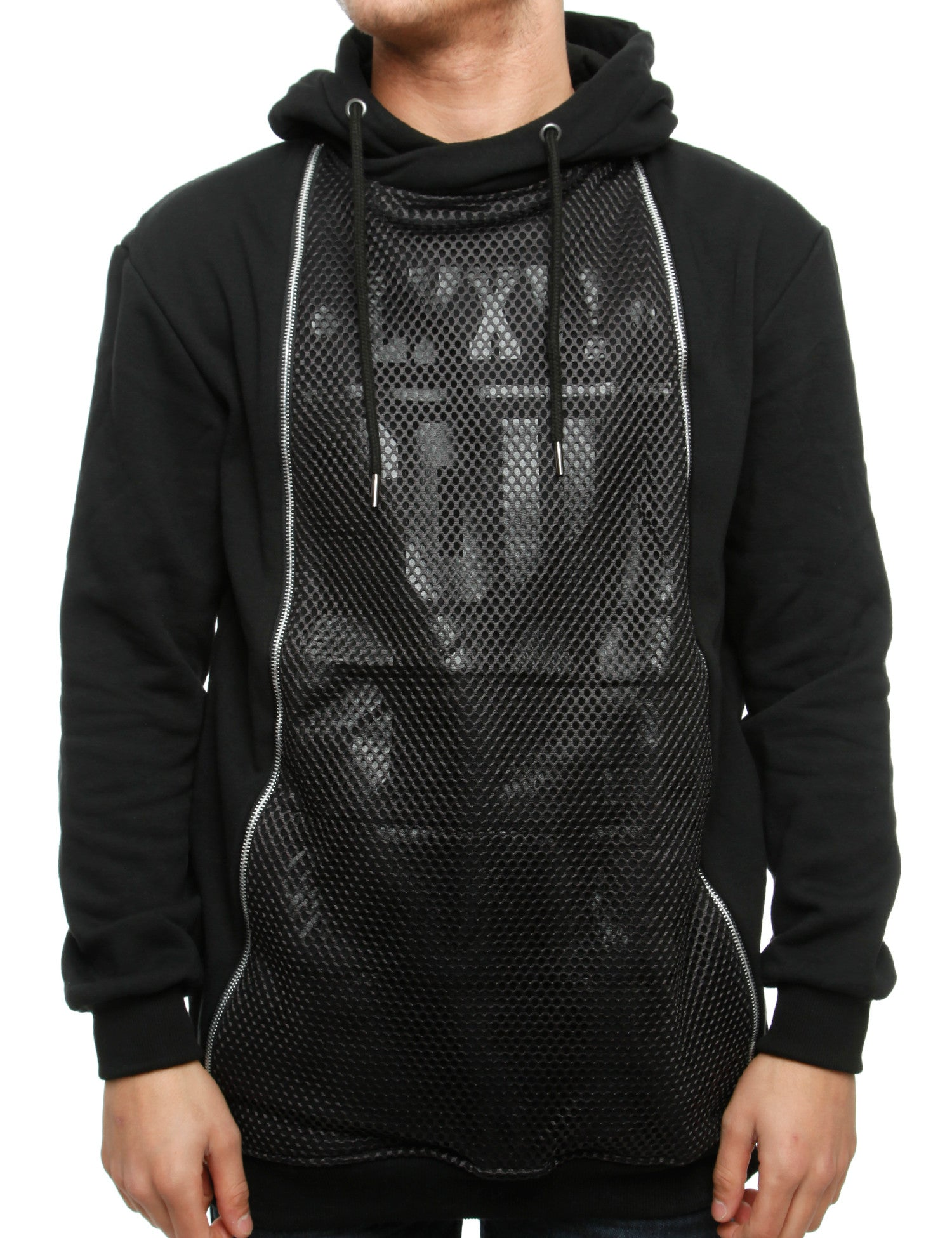 Soul Star MSW Ventrical Zip Hoody Black