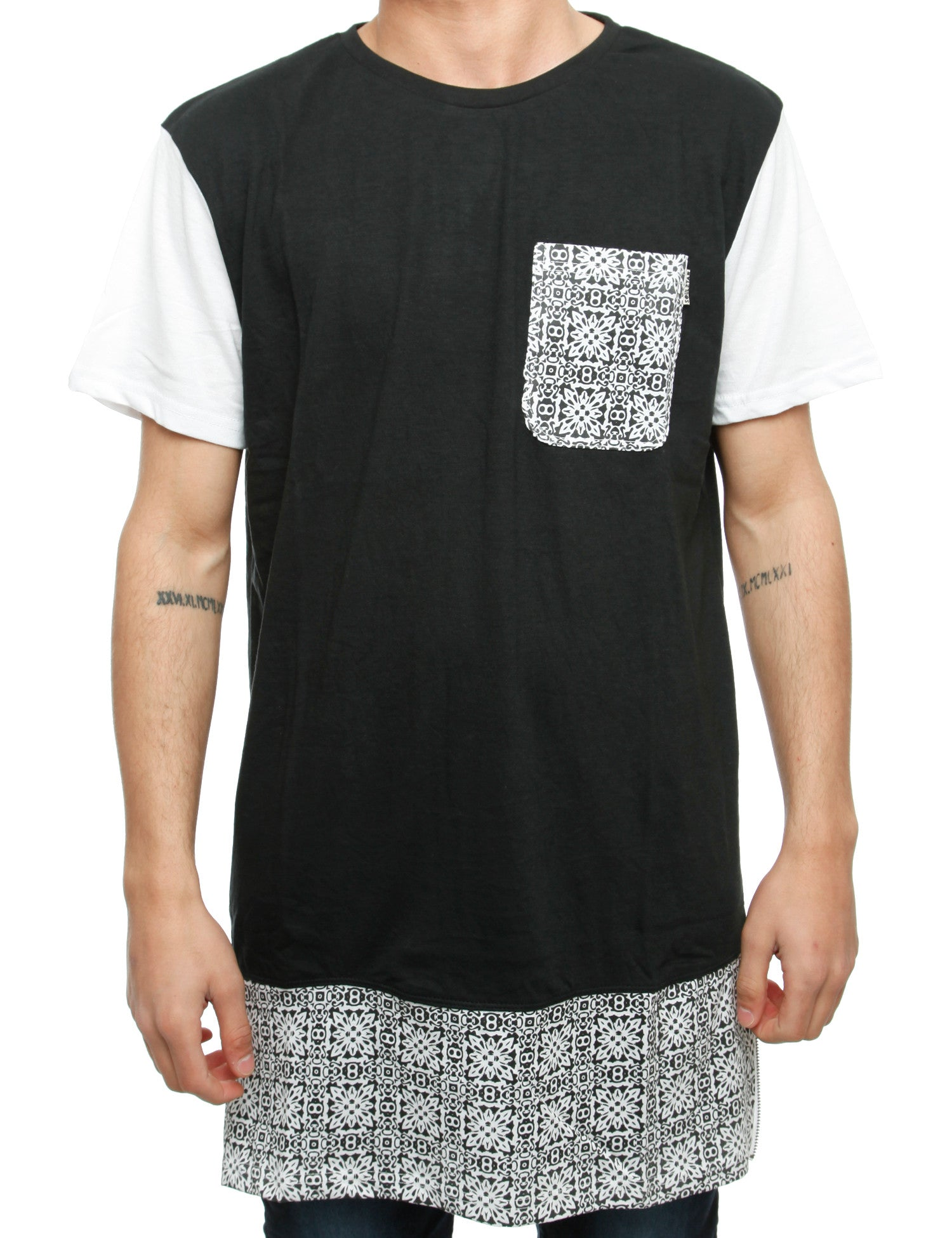 Soul Star Mt Mosaic T-Shirt Black