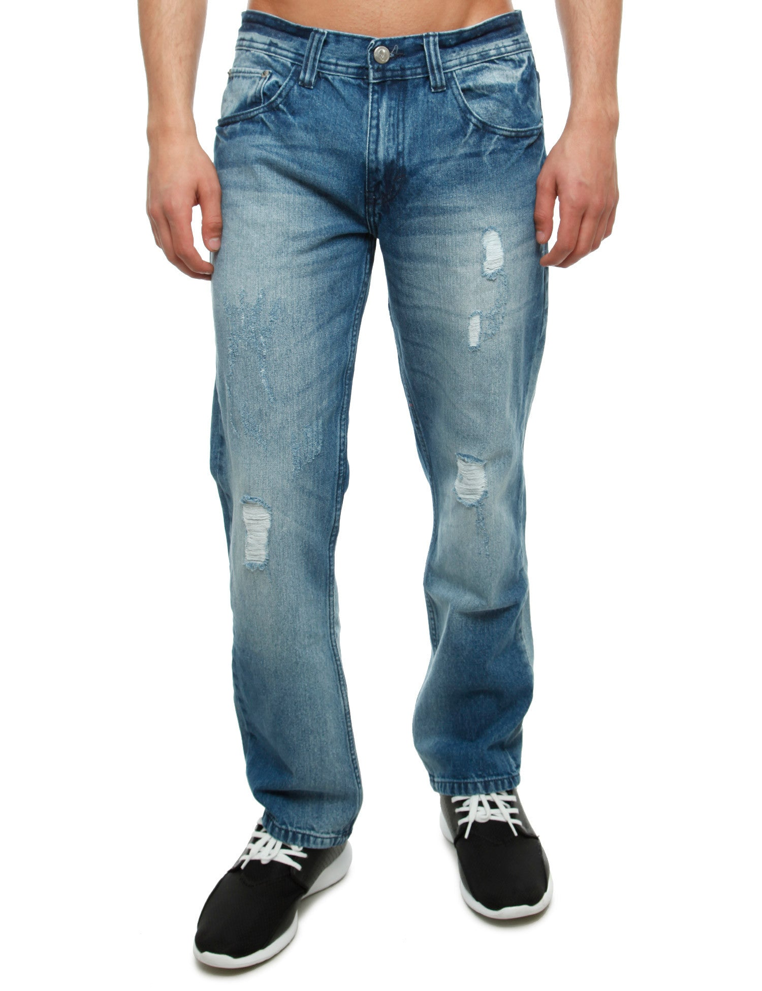 Akademiks SEMINOLE Jeans A16JN10 Light Indigo Blue