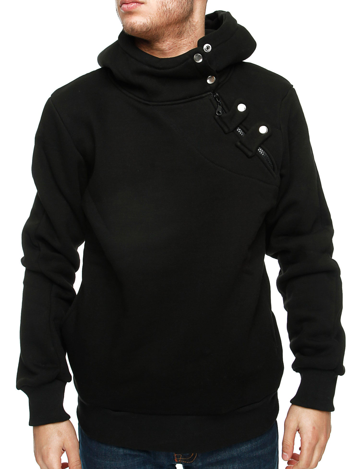 Behype S135 Hoodie Heather Black