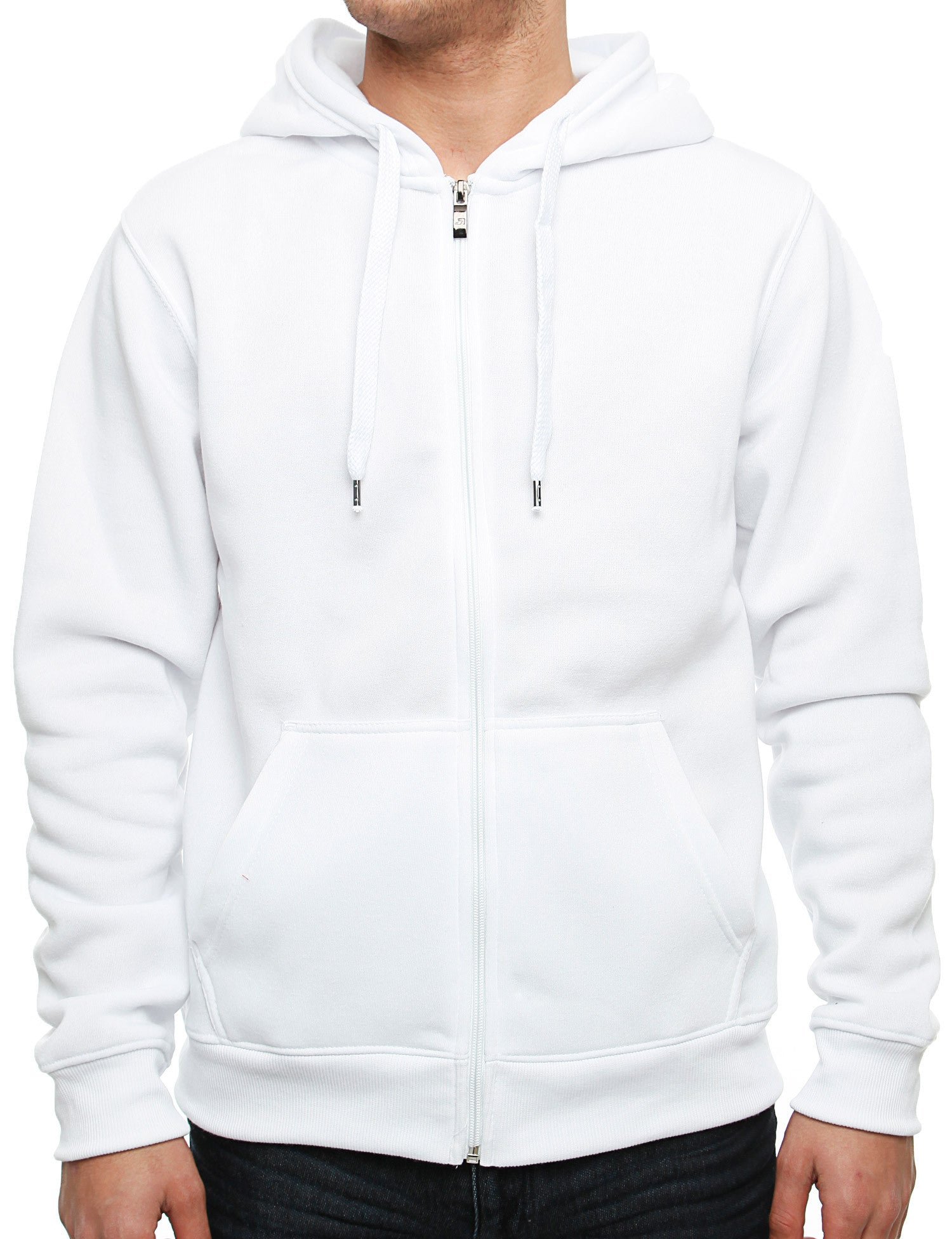 Southpole Zip Hoody 9001-1501S White