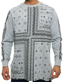 Southpole Long Sleeve 15321-1075 Heather Grey