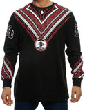 Southpole Long Sleeve 15321-1074 Burgundy Red