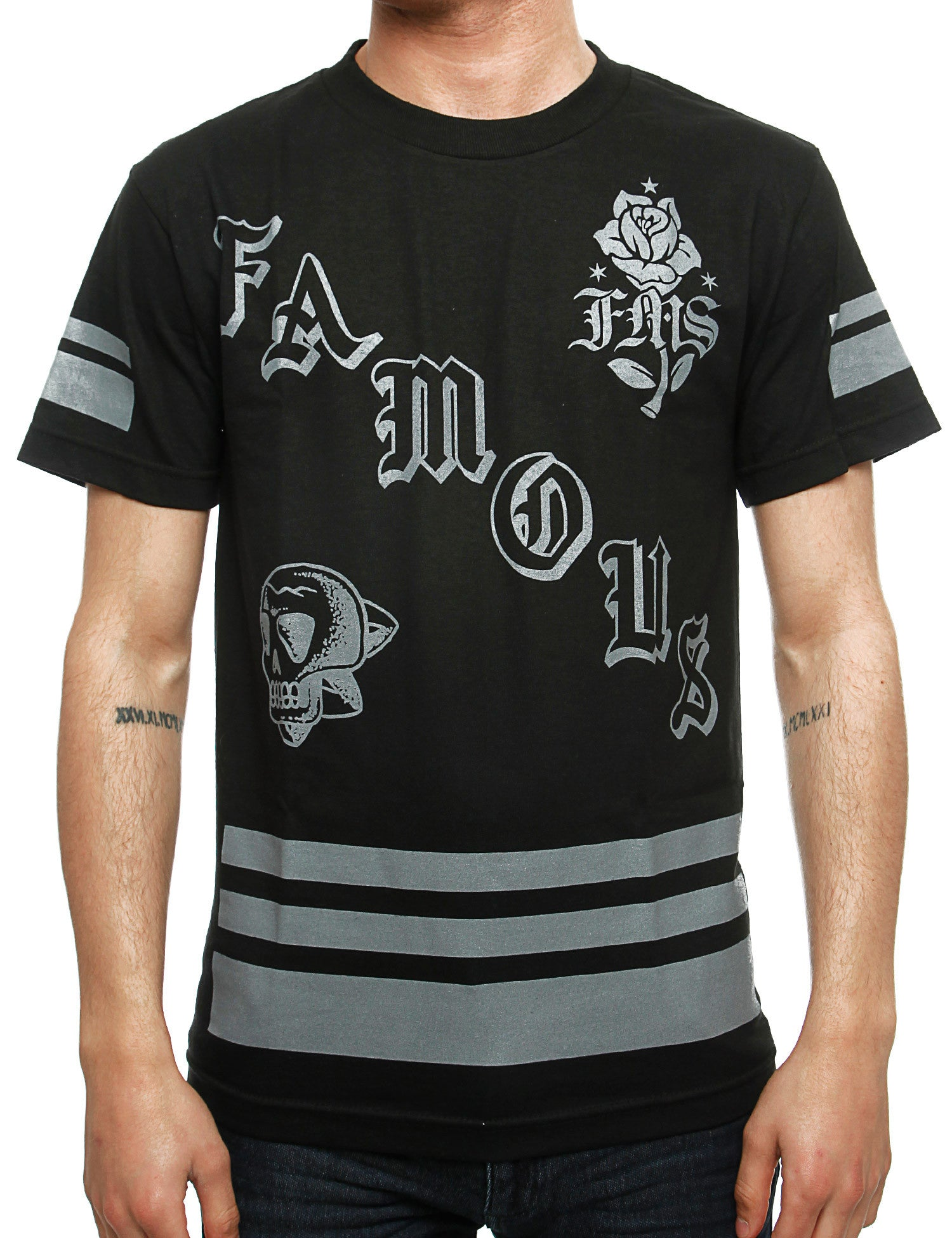 Famous Death Squad T-Shirt FM03150071 Black