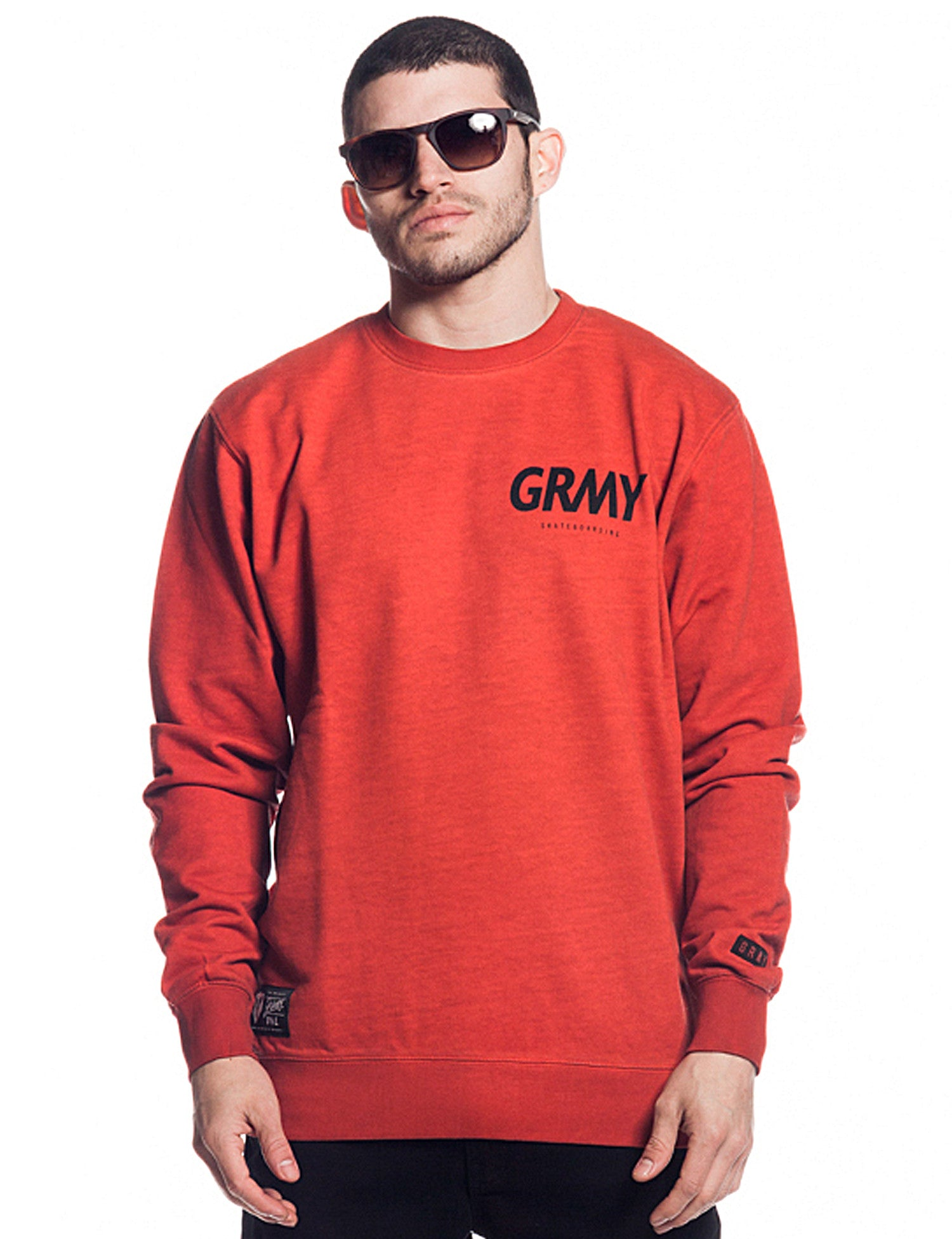 Grimey Hunter GRMY Crewneck GSW212 Red