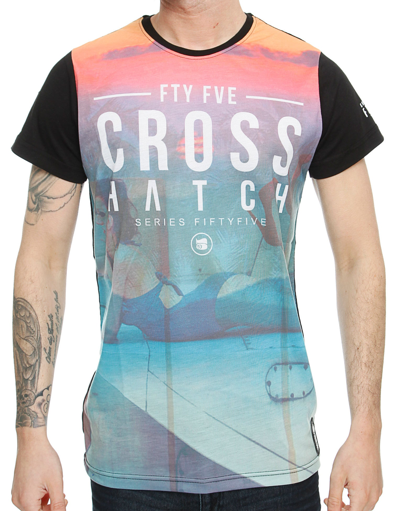Crosshatch Chasedown T-Shirt CH2A108681 Multi