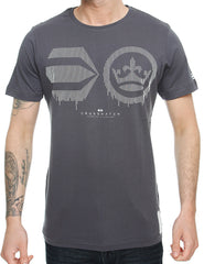 Crosshatch Baseline T-Shirt CH2A109625 Periscope Grey