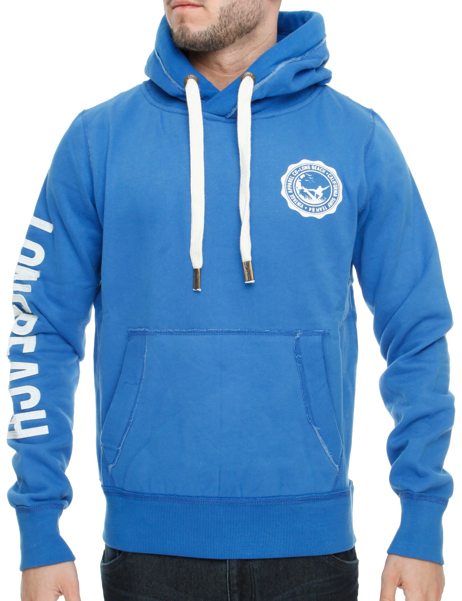 Long Beach Gerard Hoody Royal Blue