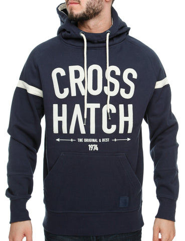 Crosshatch Chassis Hoody CH2e109201 Iris Navy
