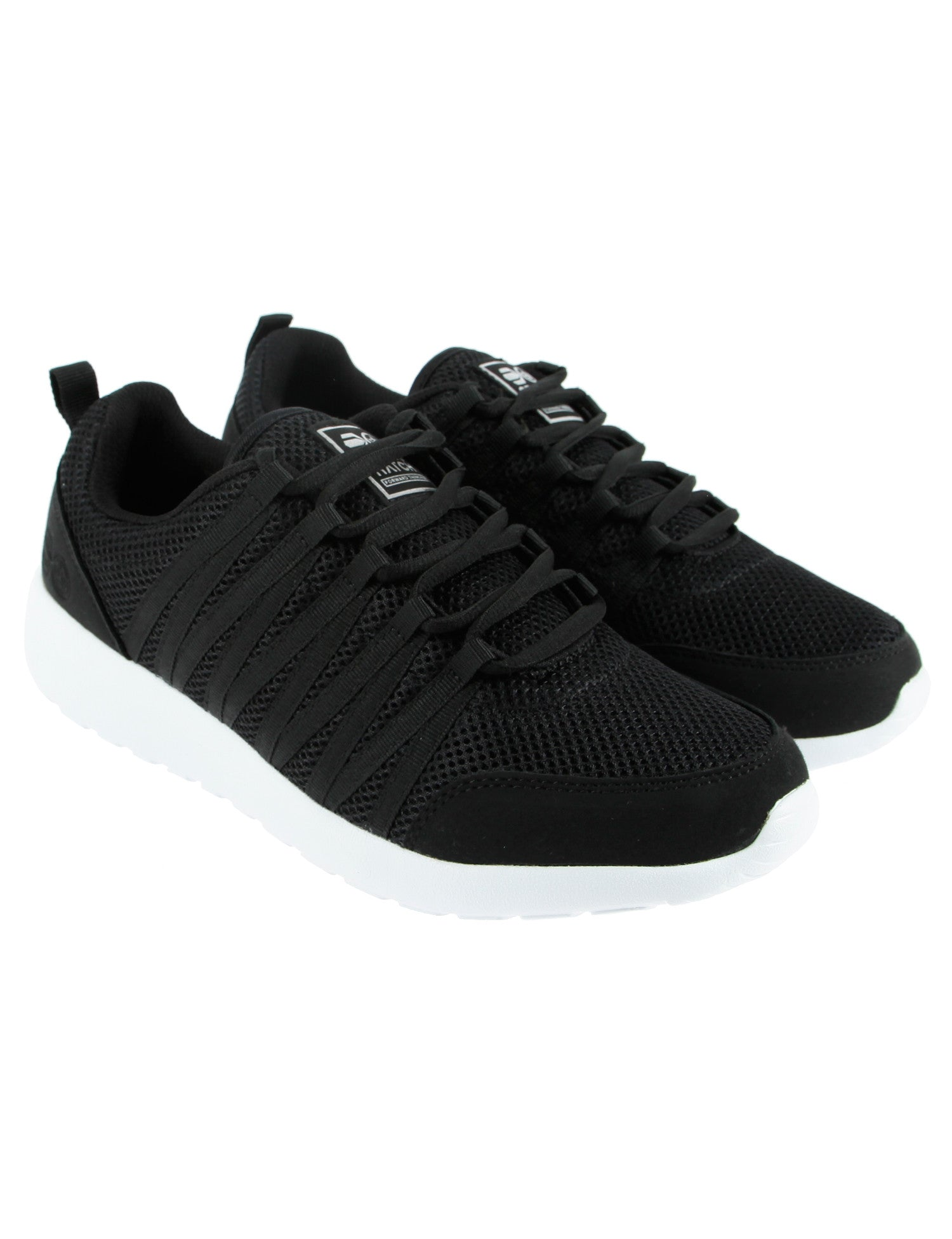 Crosshatch Primeval Shoes CH2V109113 Black
