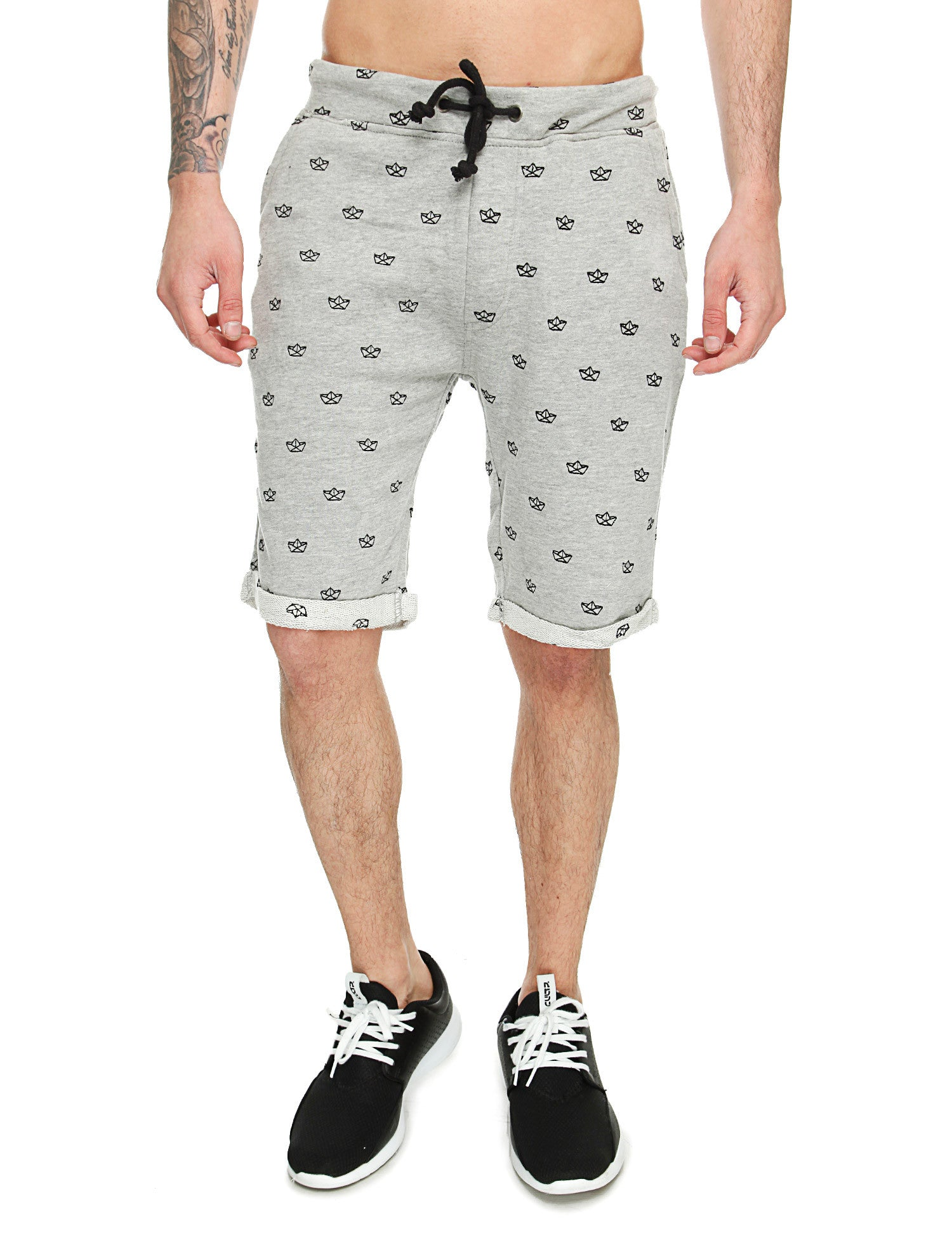Blend Sweatshorts 20500181 Light Grey