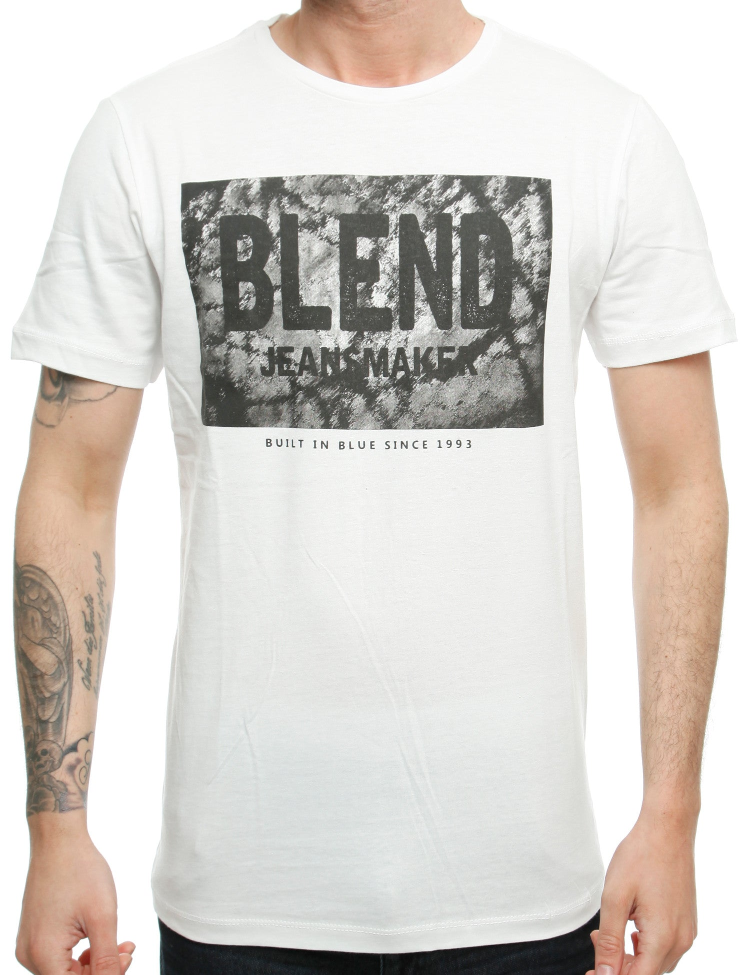 Blend  T-Shirt 20700922 Off White