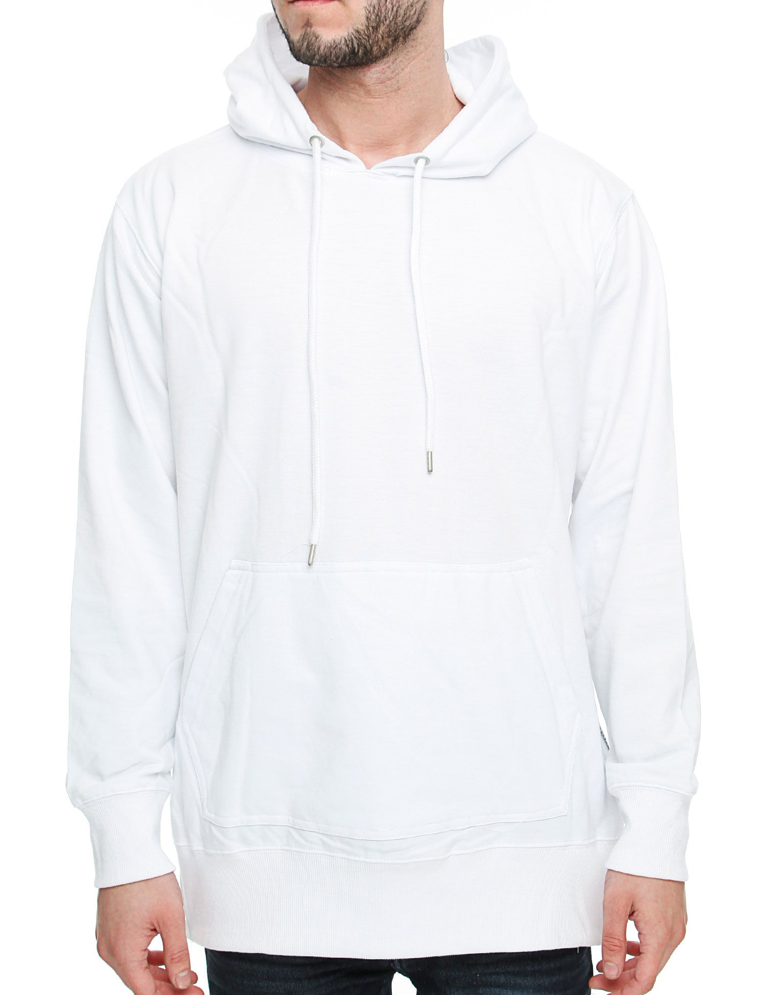 Royal Blue Hoody R4HD1014 White