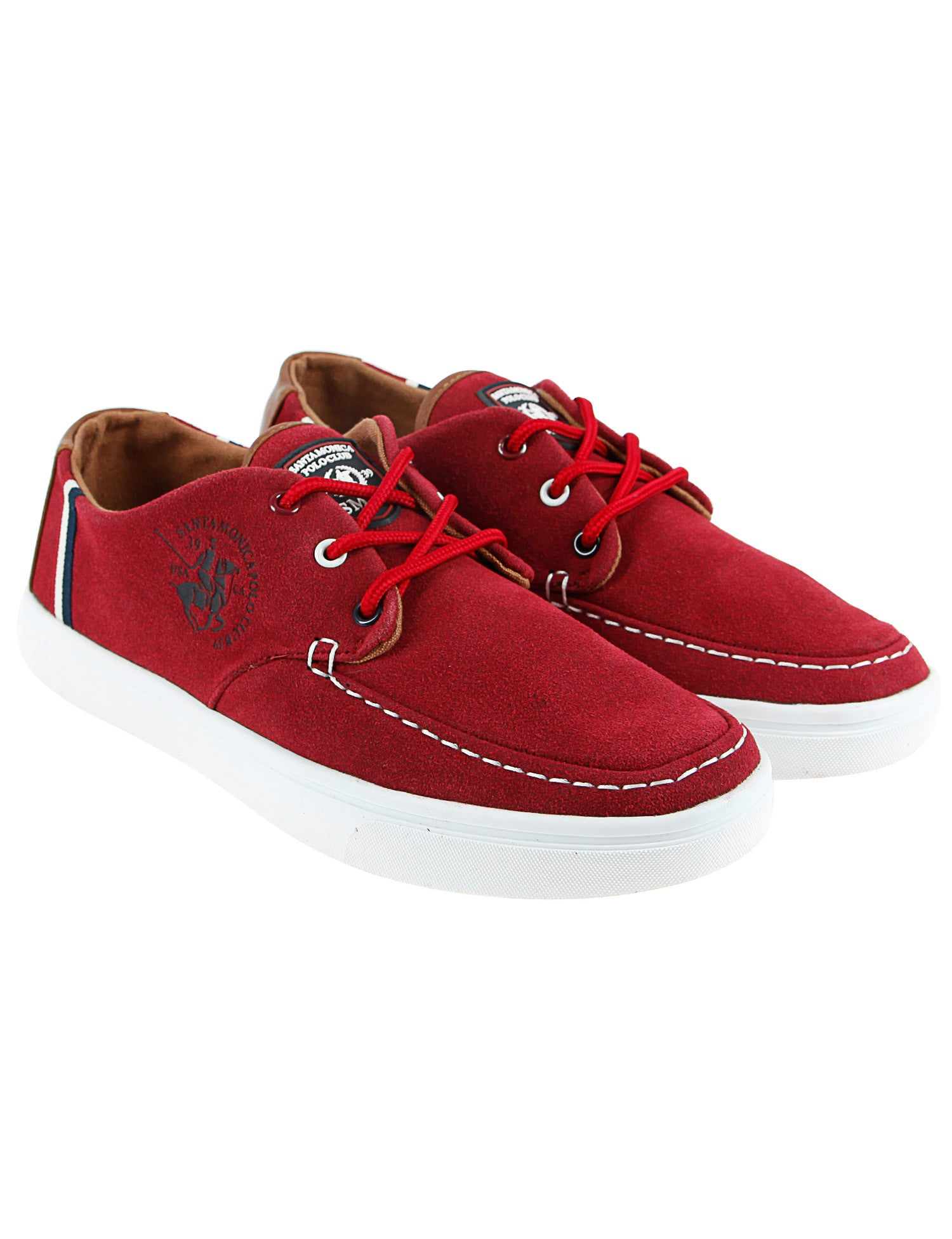Santa Monica Sailing Shoes Port Red