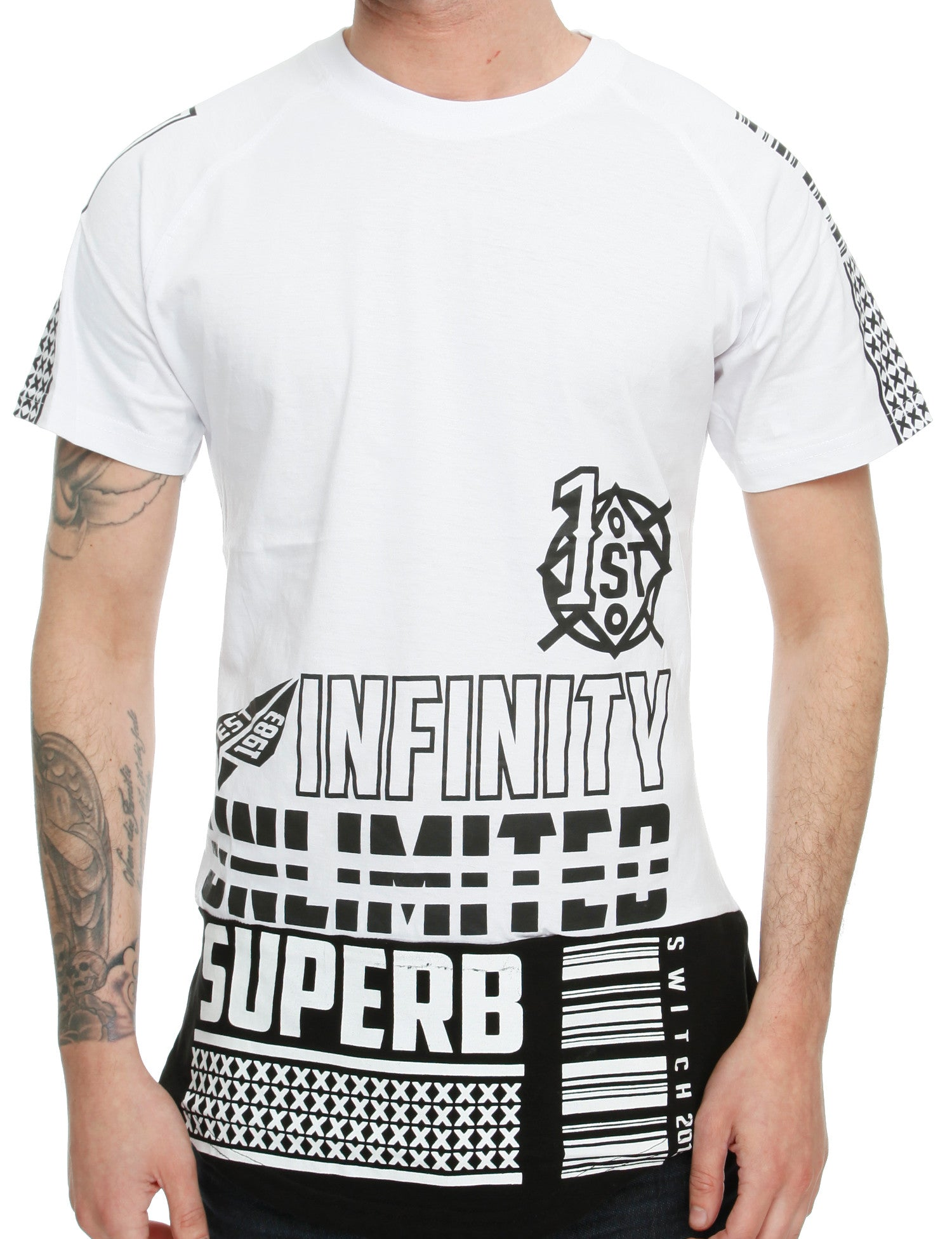 Switch Extreme Print T-Shirt SS6023 White