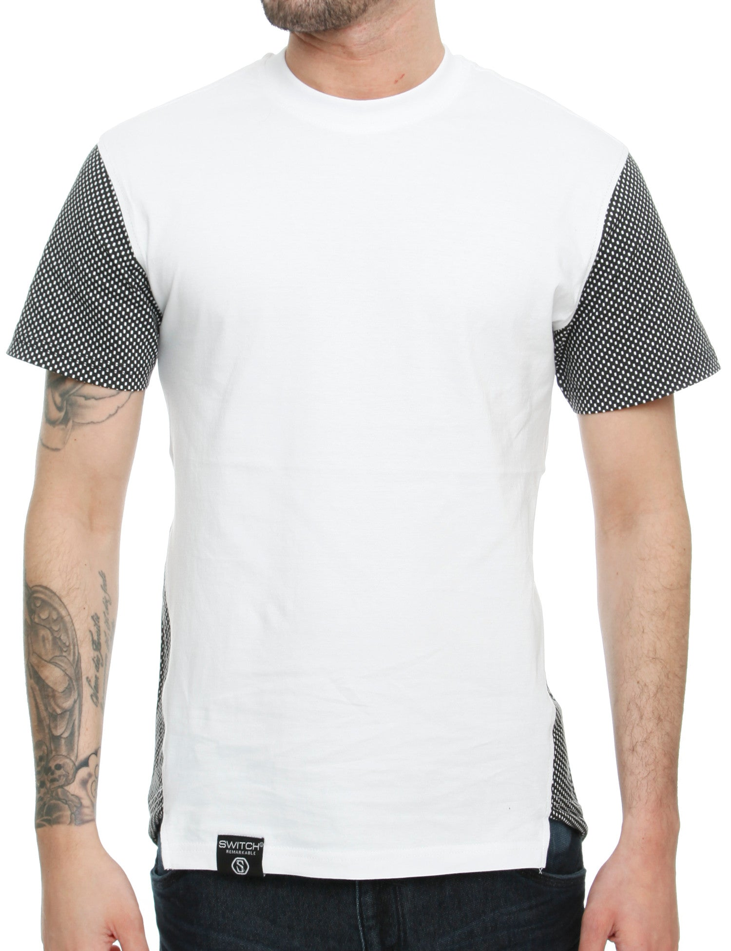 Switch Mesh T-Shirt SS6051 White