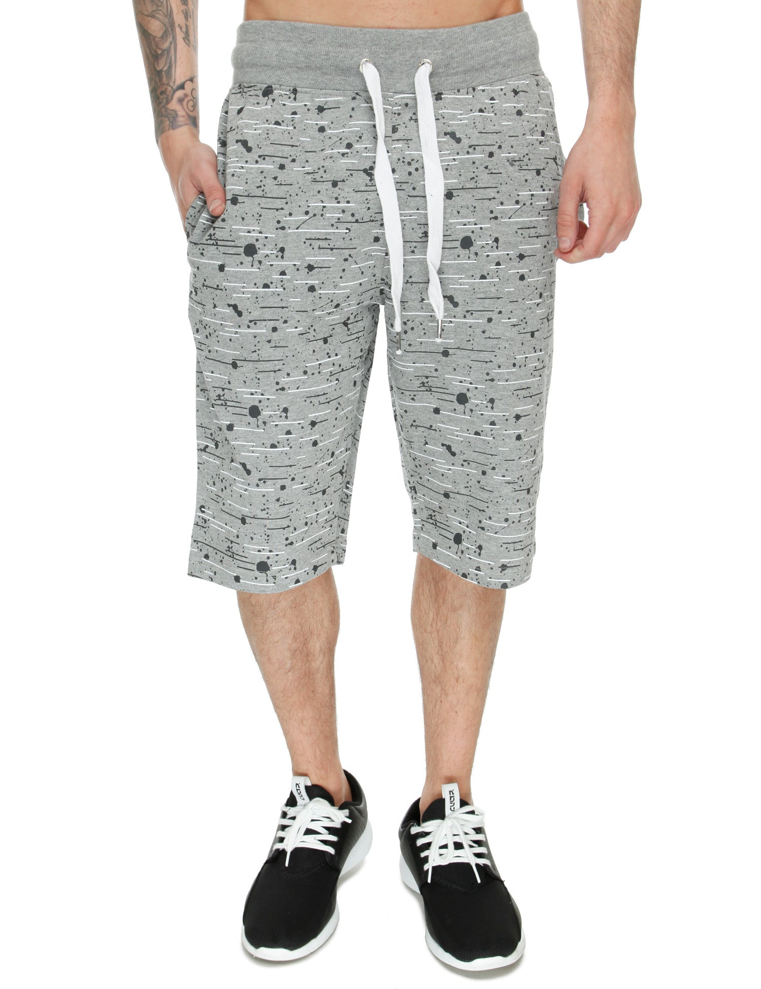 Switch Textur Shorts SS6413 Grey