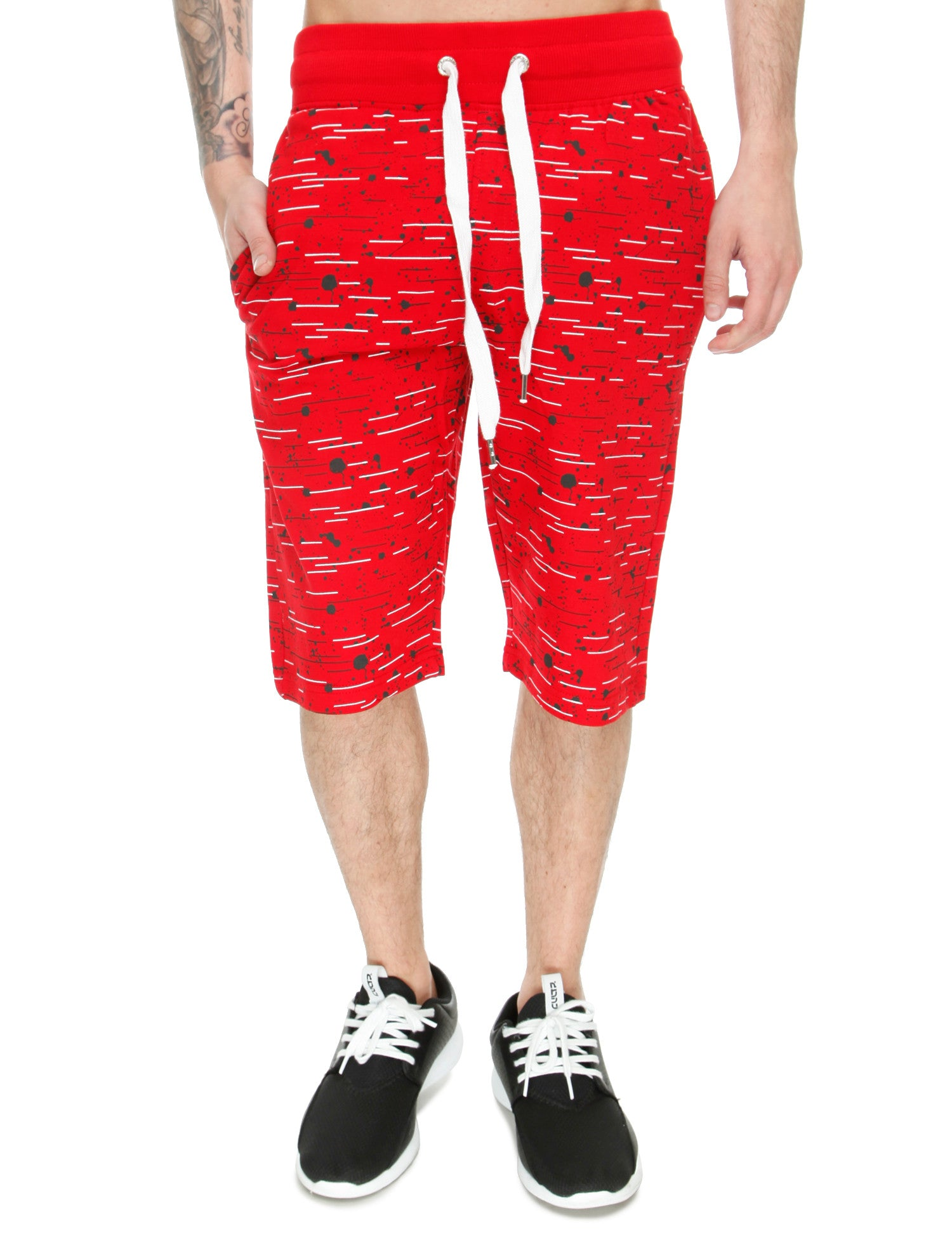 Switch Textur Shorts SS6413 Red