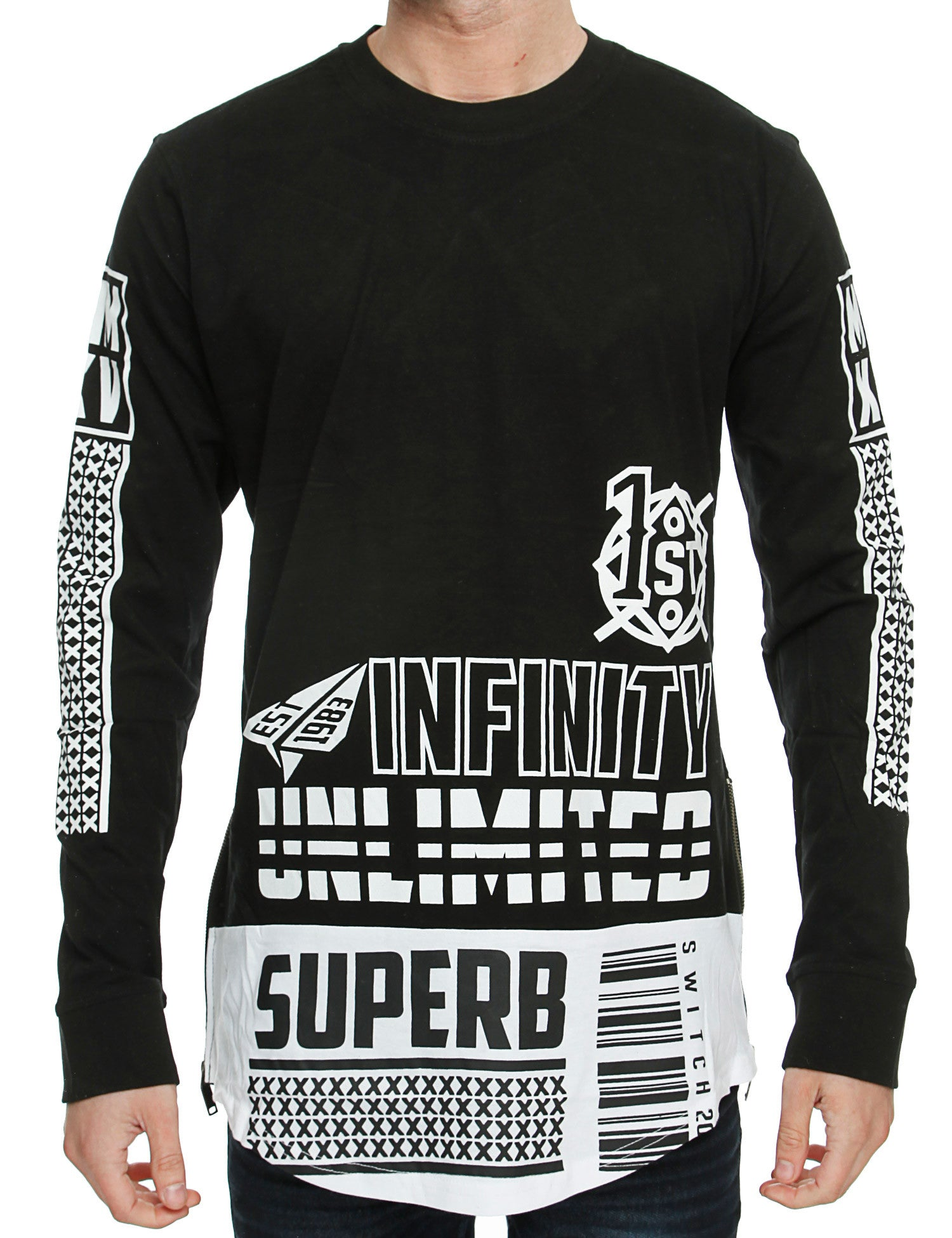 Switch Long Sleeve SF5071 Black
