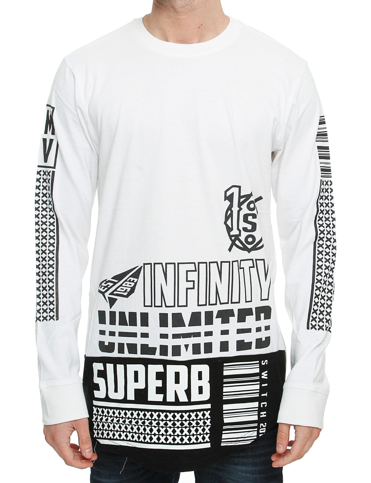 Switch Long Sleeve SF5071 White