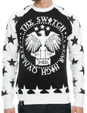 Switch Star Print Crewneck SF5278 White