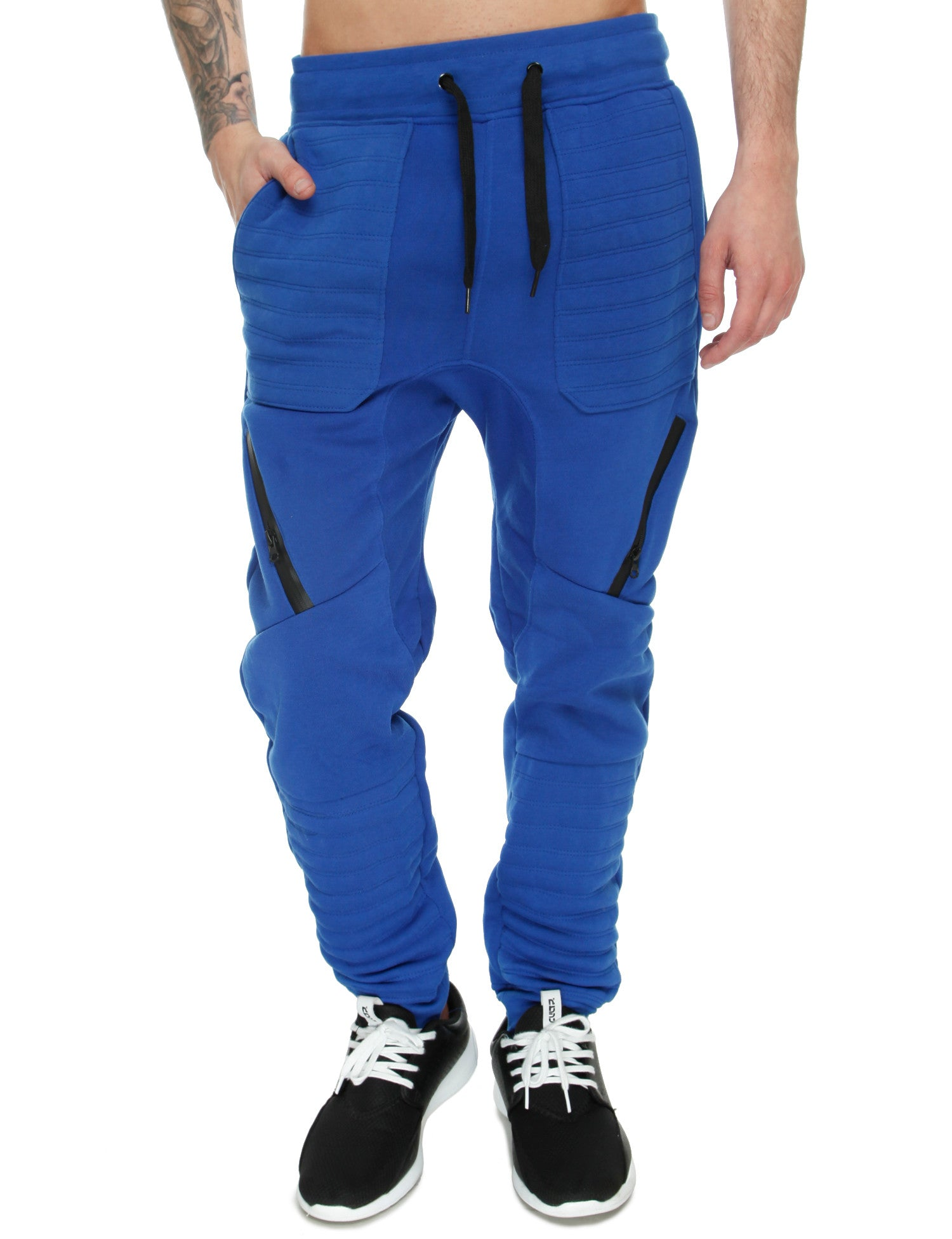 Switch Drop Crotch Sweatpant SF5455 Royal Blue