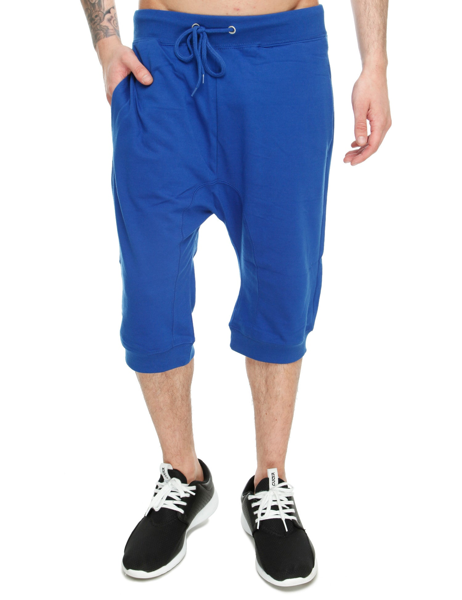 Royal Blue French Terry Shorts 44022SH Royal Blue