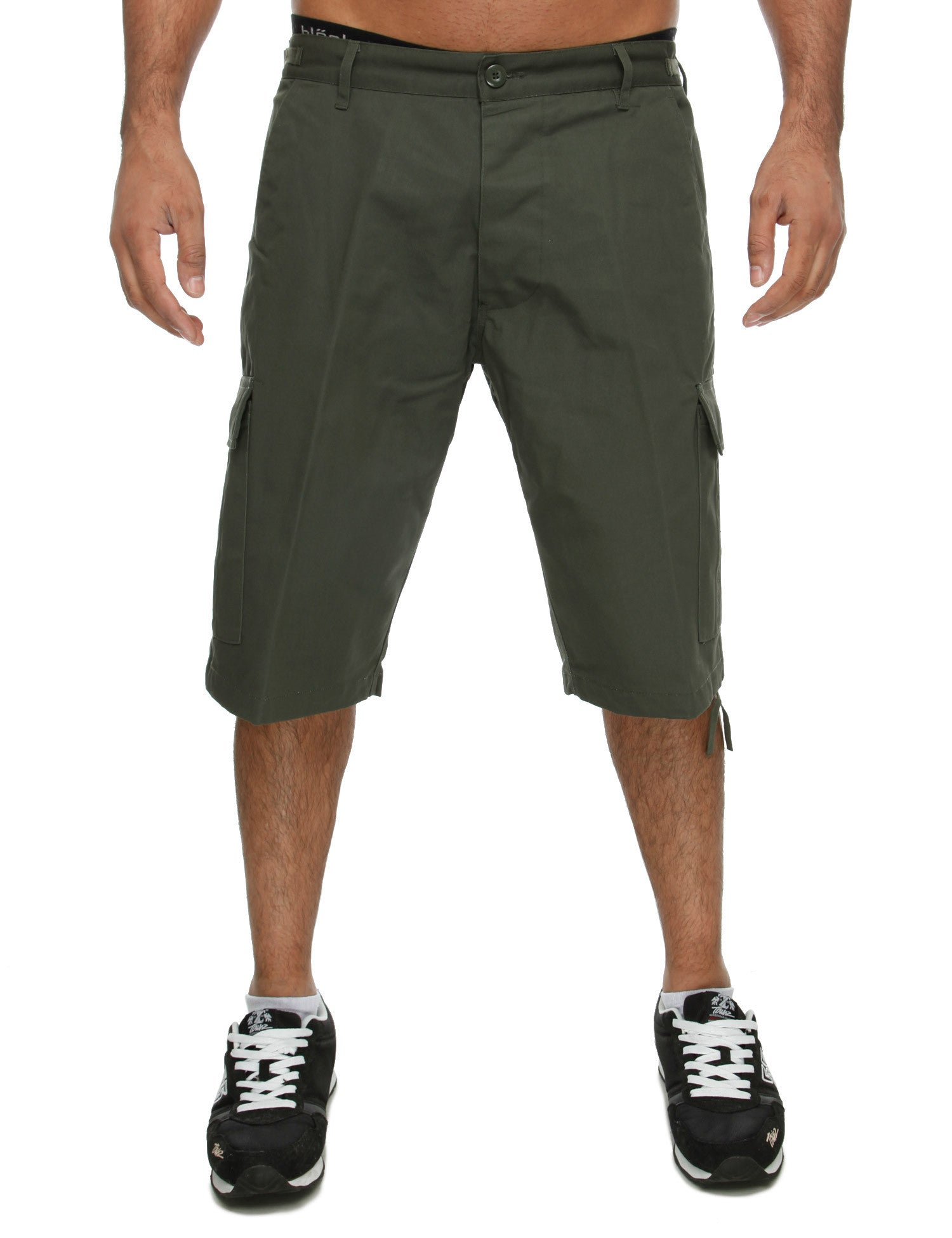 Royal Blue Cargo Shorts 9023 Olive Green
