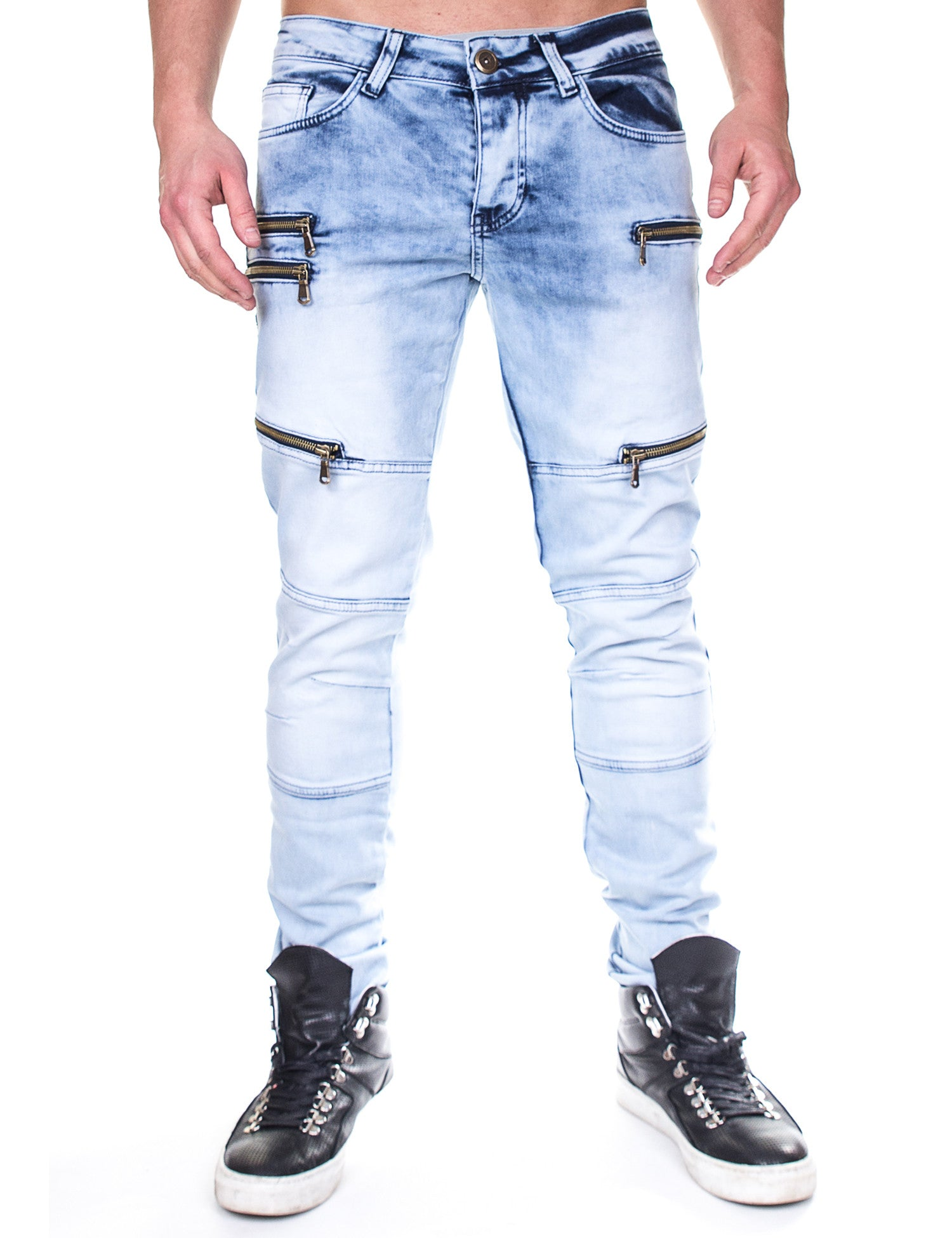 Denim House Jeans DDH-1020 Blue