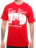 Raw Blue Hottie T-Shirt RB16-003 Red