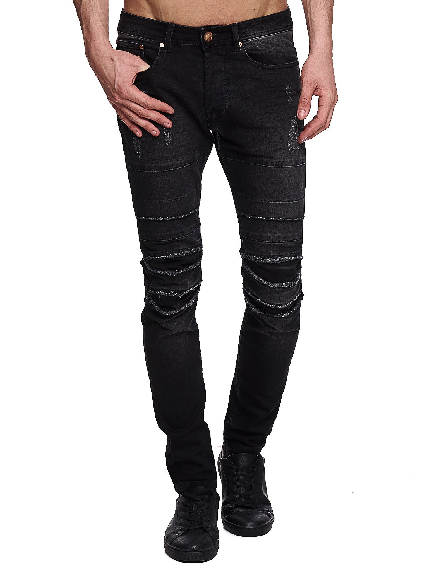 Free Side Rotex Jeans Black