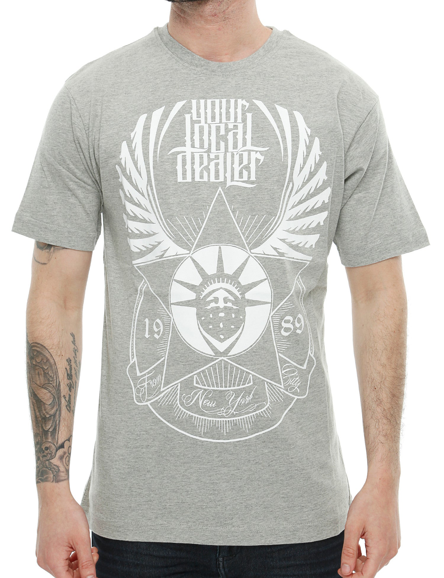 YLD Wings T-Shirt YLD16-006 Grey