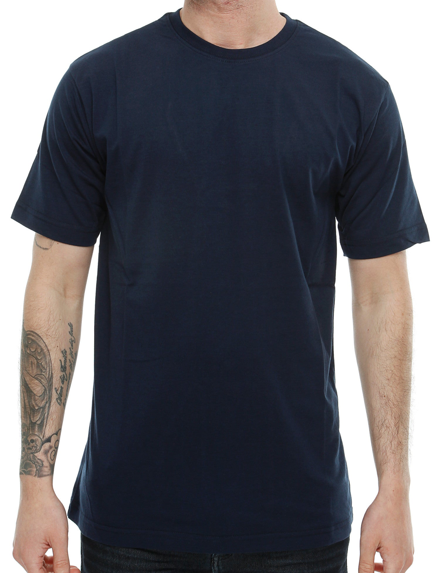Raw Blue Solid Basic T-Shirt RB16-013 Navy