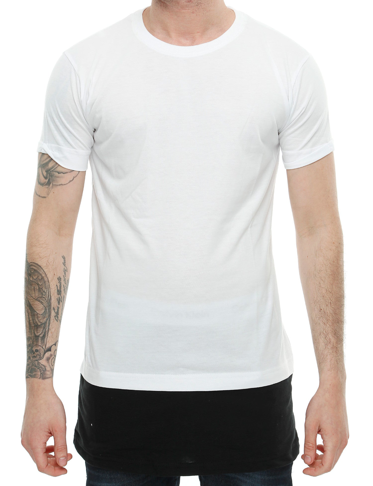 Townz Long Contract Tee TNZ16-014 White