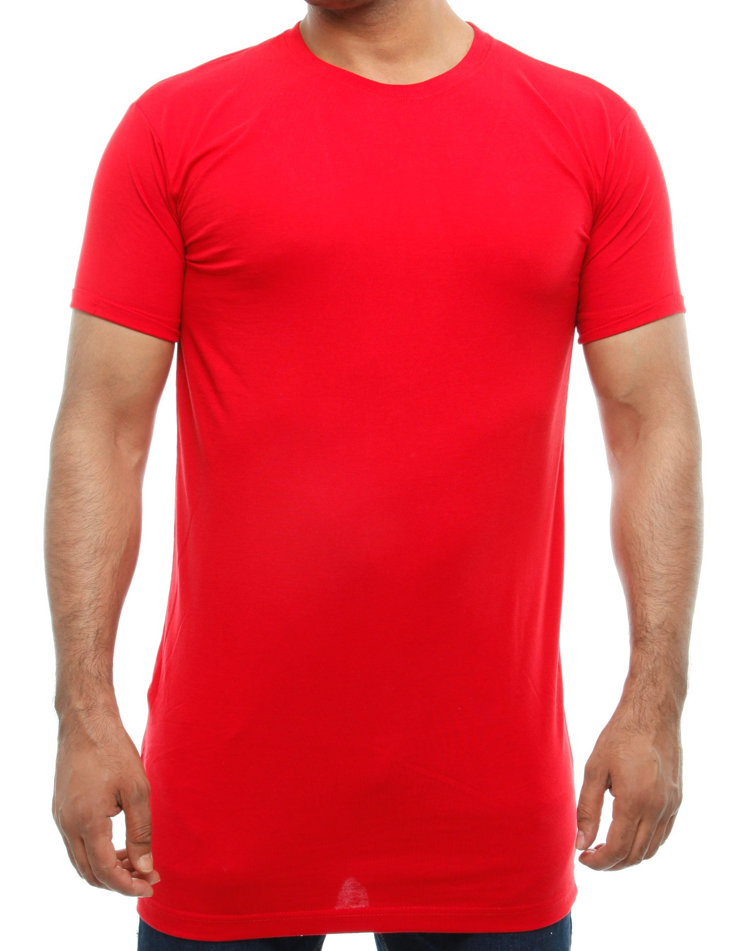 Raw Blue Long Tees RB16-017 Red