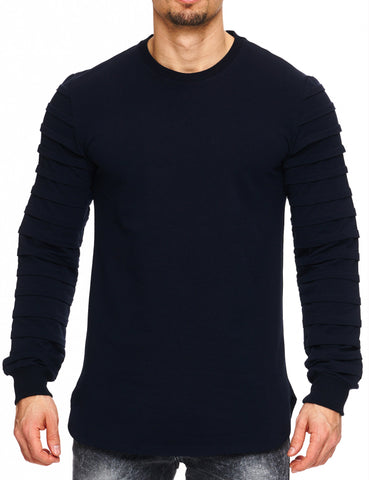 Free Side Sweatshirt 16-103 Dark Blue