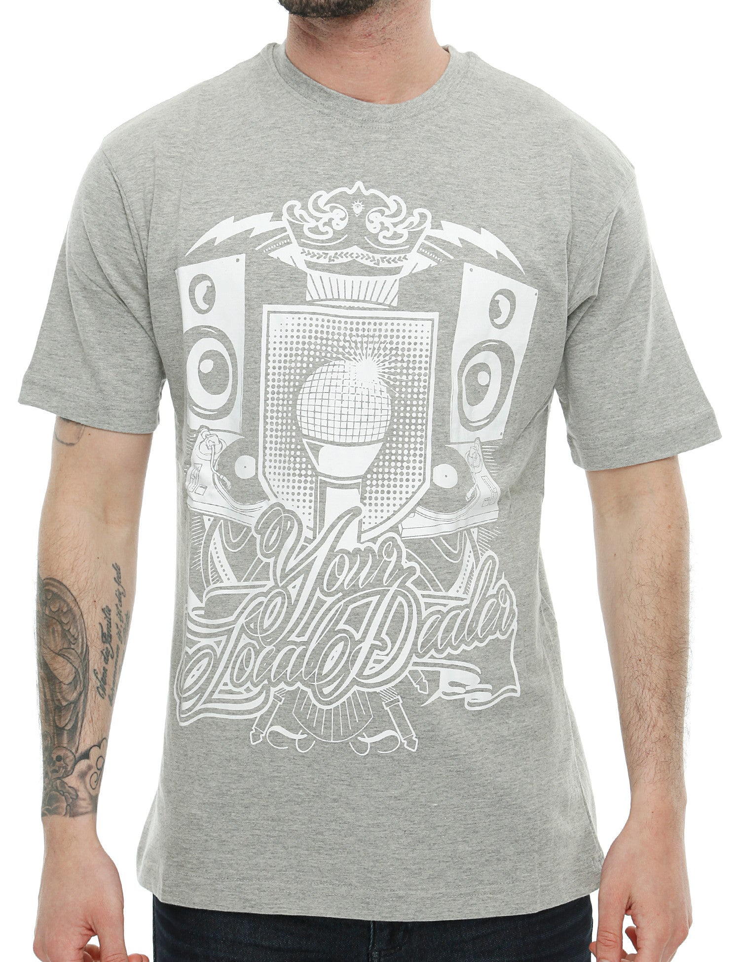 YLD Soundbox T-Shirt YLD16-004  Grey