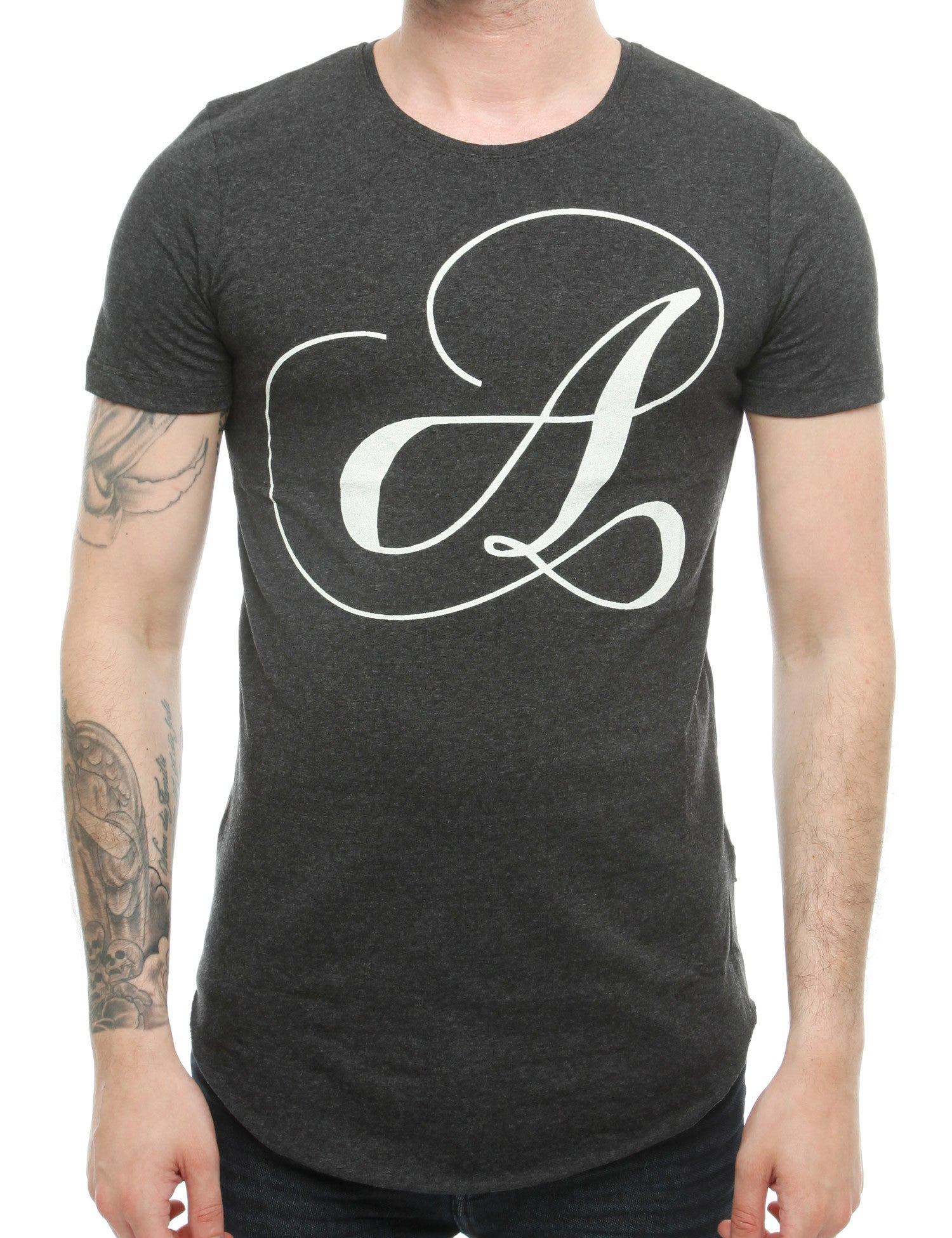Free Side T-Shirt 16-110 Anthracite Grey