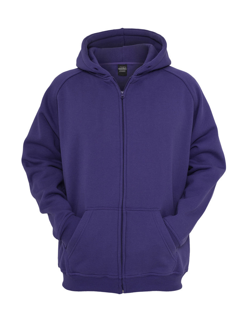 Kids Zip Hoody Purple