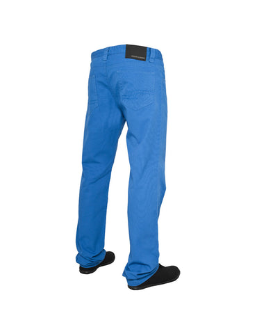 5 Pocket Pants Blue