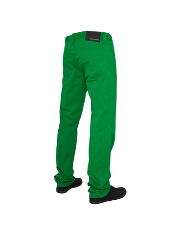 5 Pocket Pants Green